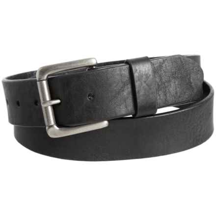 Bill Adler Jaxson Leather Belt (For Men) in Black - Closeouts