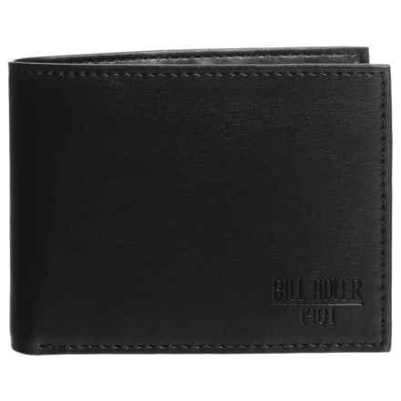 Bill Adler RFID Billfold Wallet (For Men) in Black - Closeouts