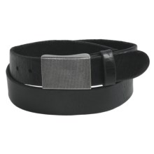 Bill Adler Tacoma Belt - Leather (For Men) in Black - Closeouts