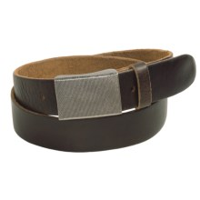 Bill Adler Tacoma Belt - Leather (For Men) in Brown - Closeouts