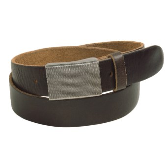 Bill Adler Tacoma Belt - Leather (For Men) in Brown
