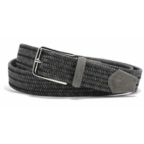 Bill Lavin Leather Island Quinton Braided Belt - Calfskin (For Men)