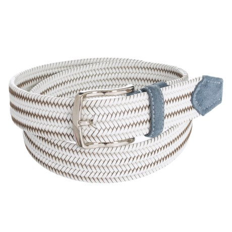 Image of Bill Lavin Leather Island Quinton Braided Belt - Calfskin (For Men)