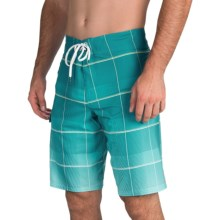 Billabong All Day X Plaid Boardshorts - Recycled Materials (For Men) in Marine - Closeouts
