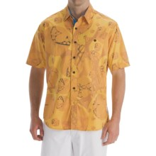 Billabong Andy Davis Bali Shirt - Organic Cotton, Short Sleeve (For Men) in Mustard - Closeouts