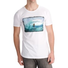 Billabong Andy Irons Forever Photo T-Shirt -Short Sleeve (For Men) in White - Closeouts
