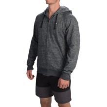 Billabong Balance Zip-Up Hoodie - Fleece (For Men) in Black - Closeouts