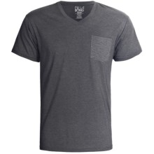 Billabong Borderline T-Shirt - Short Sleeve (For Men) in Dark Grey - Closeouts