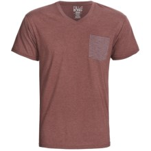 Billabong Borderline T-Shirt - Short Sleeve (For Men) in Port Heather - Closeouts
