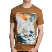 Billabong Bottle Ship T-Shirt - Cotton, Short Sleeve (For Men) in Tobacco - Closeouts