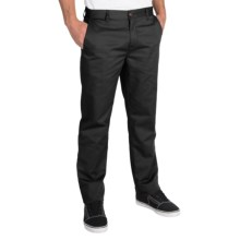 Billabong Carter Chino Pants (For Men) in Black - Closeouts