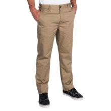 Billabong Carter Chino Pants (For Men) in Dark Khaki - Closeouts