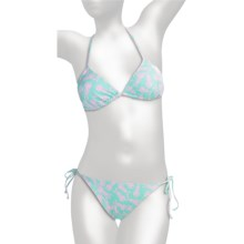 Billabong Dori String Bikini Swimsuit - 2-Piece (For Women) in Aqua - Closeouts