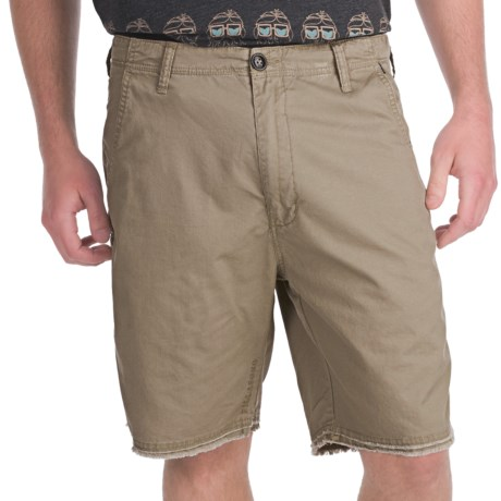 Billabong Dusty Walkshorts - Slim Fit (For Men) in Khaki