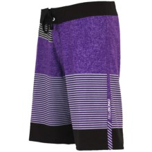 Billabong Fifty 50 Zero Gravity Board Shorts - Recycled Materials (For Men) in Fifty 50 Purple - Closeouts