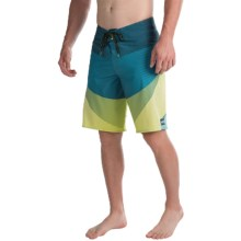 Billabong Fluid X Boardshorts (For Men) in Lime - Closeouts