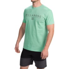 Billabong Frontliner T-Shirt - Tailored Fit, Short Sleeve (For Men) in Washed Jade - Closeouts