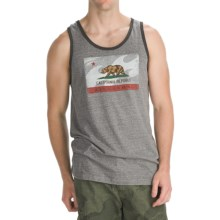 Billabong Golden State Tank Top - Organic Cotton (For Men) in Dark Grey Heather - Closeouts