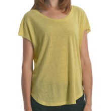 Billabong I Am Back T-Shirt - Relaxed Fit, Short Sleeve (For Women) in Lemon Twist - Closeouts