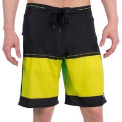 Billabong Invert Boardshorts (For Men) in Lime Green