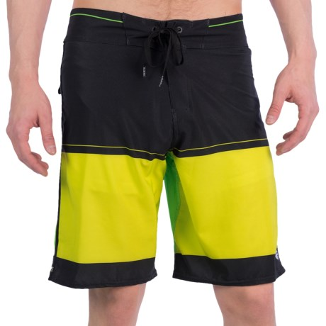 Billabong Invert Boardshorts (For Men) in Lime Green