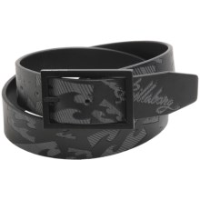 Billabong Manic Belt - Reversible (For Men) in Black - Closeouts