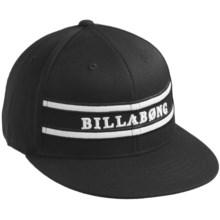 Billabong Militia Hat - Flexfit® (For Men) in Black - Closeouts