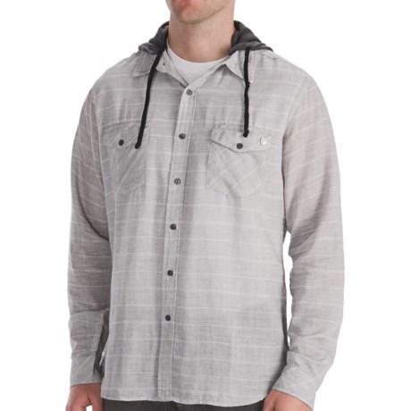 Billabong Monterey Shirt - Long Sleeve (For Men) in Grey