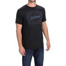 Billabong Mosaic T-Shirt - Short Sleeve (For Men) in Black - Closeouts