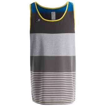 Billabong Multi-Stripe Tank Top - Sleeveless (For Men) in Komplete Stripe Black