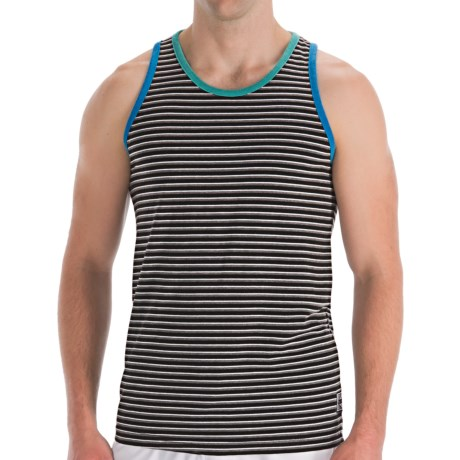Billabong Multi-Stripe Tank Top - Sleeveless (For Men) in The Hook Black