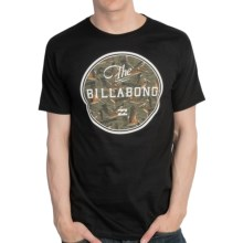 Billabong Official T-Shirt - Organic Cotton, Short Sleeve (For Men) in Black - Closeouts