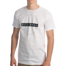 Billabong Perimeter T-Shirt - Organic Cotton, Short Sleeve (For Men) in White - Closeouts