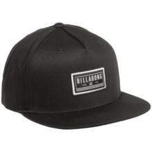 Billabong Perseverance Ball Cap (For Men) in Black - Closeouts
