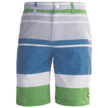 Billabong Reeves Hydrostretch Walkshorts (For Men) in Light Royal - Closeouts