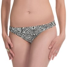 Billabong Safari Tropic Bikini Bottoms (For Women) in Black/White - Closeouts