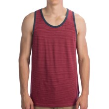 Billabong Shaded Stripe Tank Top (For Men) in Blood Heather - Closeouts