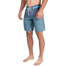 Billabong Shifty X Print Boardshorts (For Men) in Blue - Closeouts