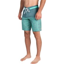 Billabong Shifty X Print Boardshorts (For Men) in Marine - Closeouts