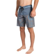 Billabong Shifty X Print Boardshorts (For Men) in Slate - Closeouts