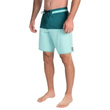 Billabong Shifty X Slub Boardshorts - Recycled Materials (For Men) in Marine - Closeouts