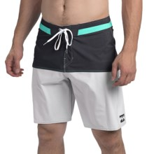 Billabong Shifty X Solid Boardshorts (For Men) in Grey - Closeouts
