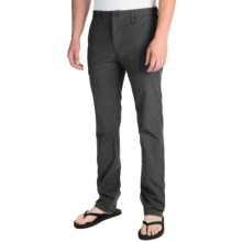 Billabong Slackers Slim Chino Pants (For Men) in Charcoal - Closeouts