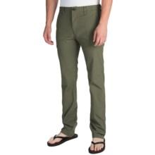 Billabong Slackers Slim Chino Pants (For Men) in Dark Military - Closeouts