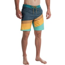 Billabong Slice Lo Tides Boardshorts (For Men) in Aqua - Closeouts