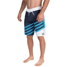 "Billabong Slice X Boardshorts - 10"" (For Men) in Indigo - Closeouts"