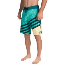 "Billabong Slice X Boardshorts - 10"" (For Men) in Mint - Closeouts"