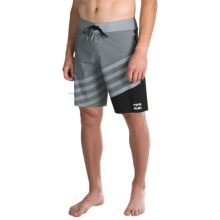 "Billabong Slice X Pro Boardshorts - 11"" (For Men) in Black - Closeouts"