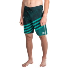 "Billabong Slice X Pro Boardshorts - 11"" (For Men) in Deep Sea - Closeouts"