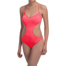 Billabong Sol Searcher One-Piece Swimsuit(For Women) in Neon Melon - Closeouts